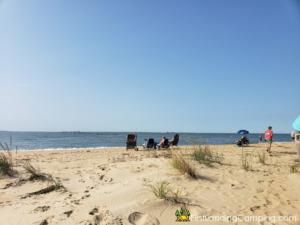 First Landing Campground Beach