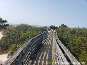 First Landing Campground Boardwalk