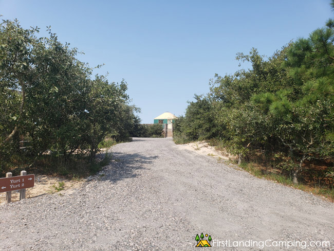First Landing Campground Site Yurt 1