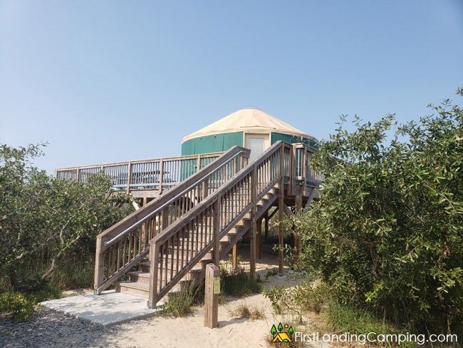First Landing Campground Site Yurt 2