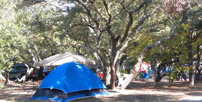First Landing Camping Group Camping